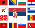 Participating countries flags